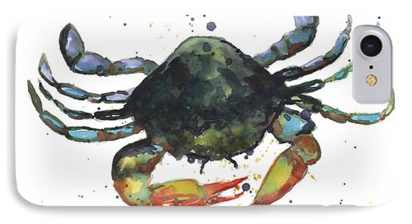 Snappy Crab IPhone Case by Alison Fennell