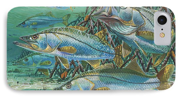 Snook Attack In0014 IPhone Case by Carey Chen