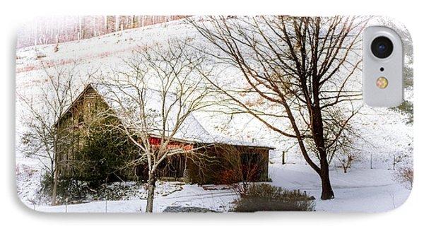 Snow Blanket IPhone Case by Karen Wiles