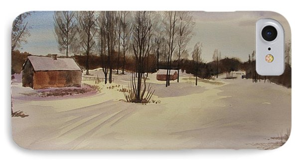 Snow In Solbrinken Phone Case by Martin Howard