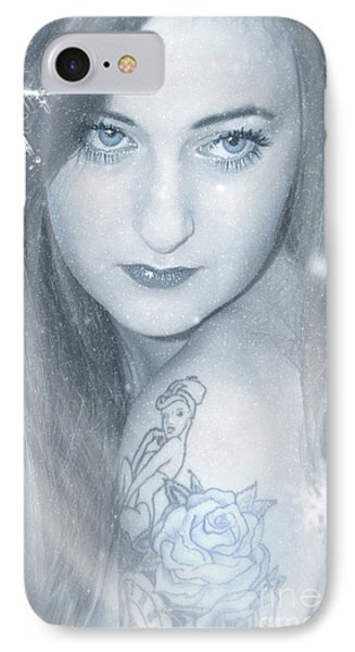 Snow Lady IPhone Case by Svetlana Sewell