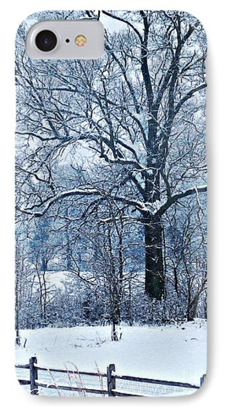 Snow Phone Case by Sarah Loft