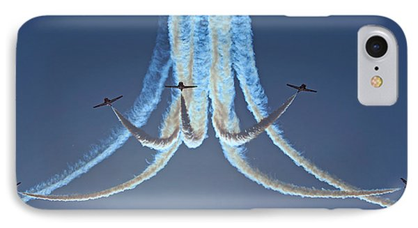 Snowbirds In A Dive IPhone Case by Randy Hall