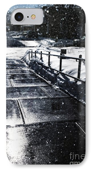 Snowy Afternoon IPhone Case by HD Connelly
