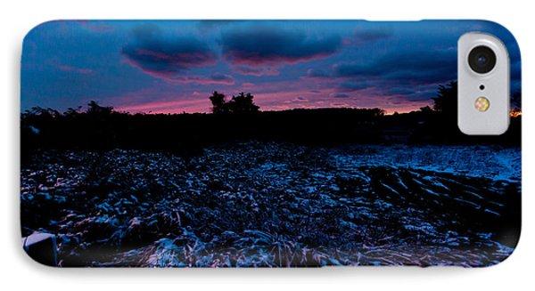 Snowy Twilight IPhone Case by Michelle Wiarda