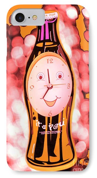 Soda Pop Clock Phone Case by Sophie Vigneault