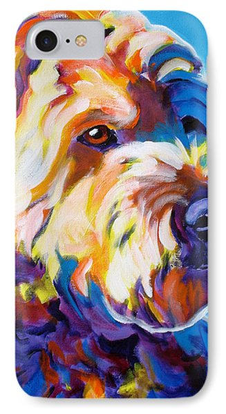 Soft Coated Wheaten Terrier - Max Phone Case by Alicia VanNoy Call
