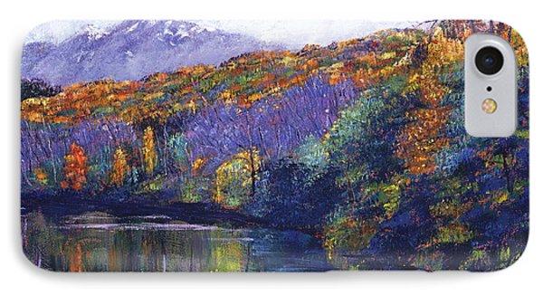 Soft Lake IPhone Case by David Lloyd Glover