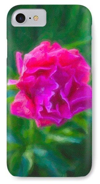 Soft Pink Peony Phone Case by Omaste Witkowski