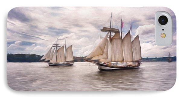 Softly Sailing IPhone Case by Georgiana Romanovna