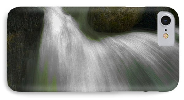 Softwater Of Cascade Creek Phone Case by Bill Gallagher