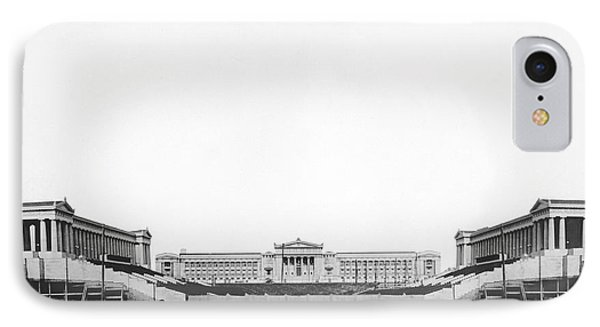 Soldiers' Field And Museum IPhone Case by Underwood Archives