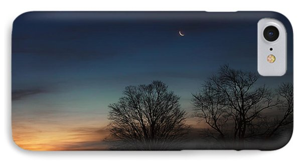 Solstice Moon Phone Case by Bill Wakeley