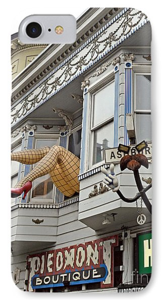Something To Find Only The In The Haight Ashbury Phone Case by Jim Fitzpatrick