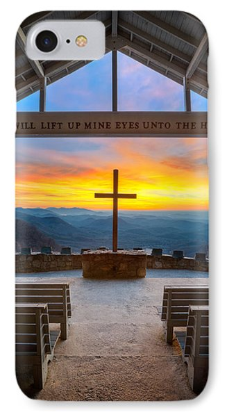 South Carolina Pretty Place Chapel Sunrise Embraced IPhone Case by Dave Allen