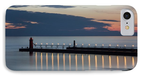 South Haven Michigan Lighthouse IPhone 7 Case by Adam Romanowicz