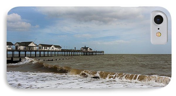 Southwold Pier Phone Case by Svetlana Sewell