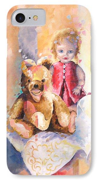 Mes Souvenirs D'enfance IPhone Case by Beatrice BEDEUR