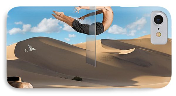 Space Outside The Dimension IPhone Case by Franziskus Pfleghart