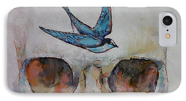 Sparrow IPhone Case by Michael Creese