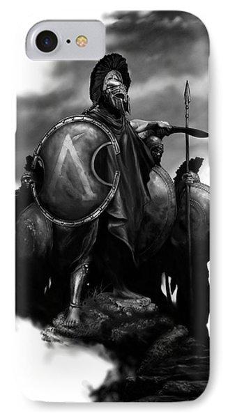 Spartans IPhone Case by Matt Kedzierski