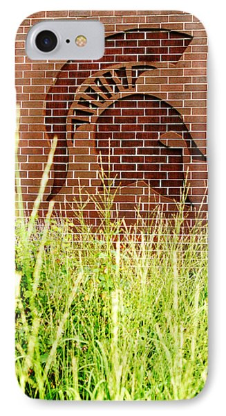 Sparty On The Wall IPhone 7 Case by John McGraw