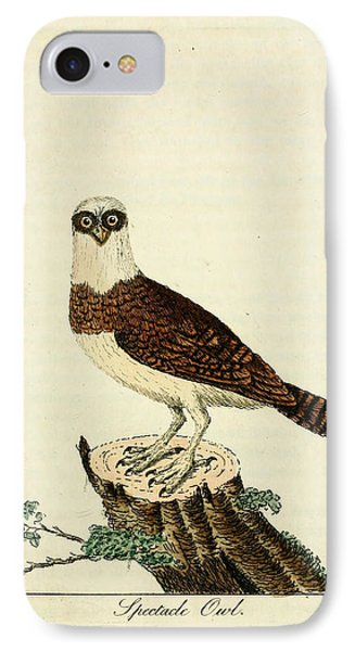 Spectacled Owl IPhone Case by Philip Ralley