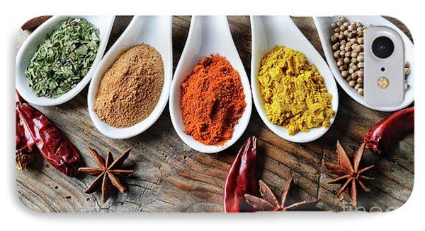 Spices Phone Case by Jelena Jovanovic