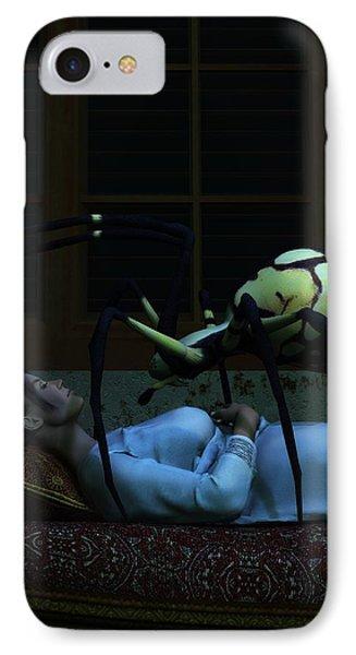 Spider Nightmare Phone Case by Daniel Eskridge