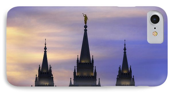 Spires IPhone Case by Chad Dutson