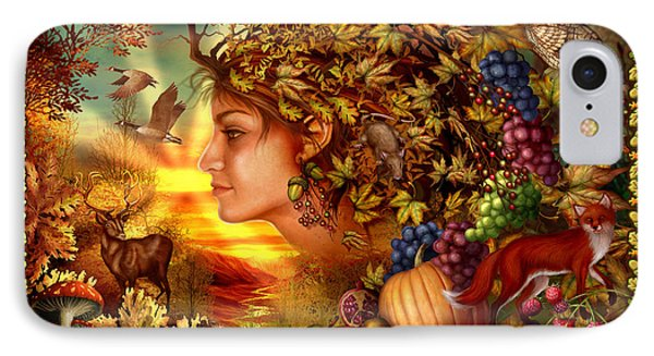Spirit Of Autumn Phone Case by Ciro Marchetti