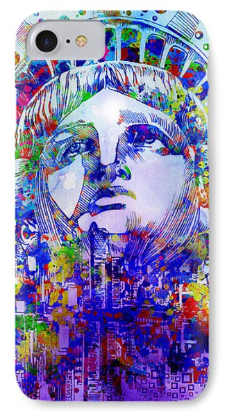 Spirit Of The City 2 IPhone Case by Bekim Art