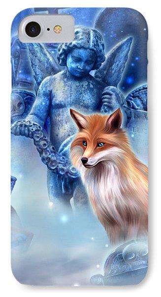 Spirit Of The Fox Phone Case by Kerri Ann Crau