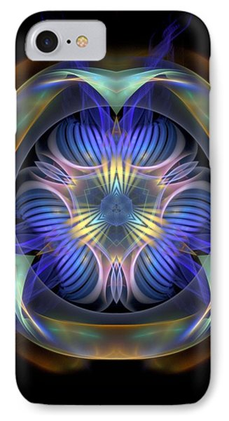 Spiritual-panels-1-left-or-righbb IPhone Case by Bill Campitelle