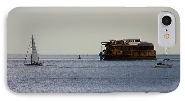Spitbank Fort Martello Tower Phone Case by Terri Waters