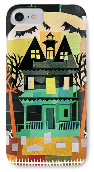 Spooks II IPhone Case by Michael Mullan