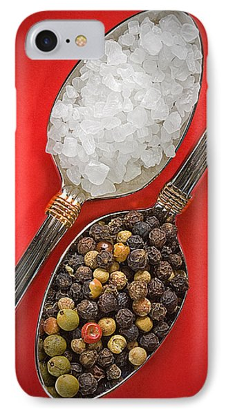 Spoonfuls Of Salt And Pepper IPhone Case by Susan Candelario