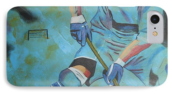 Sports Hockey-2 Phone Case by Vitor Fernandes VIFER