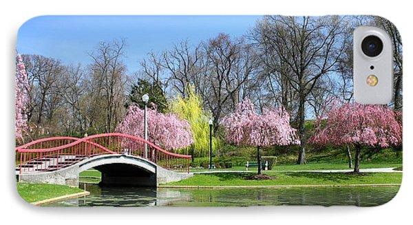 Spring At Italian Lake Phone Case by Lori Deiter