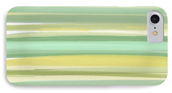 Spring Green IPhone Case by Lourry Legarde