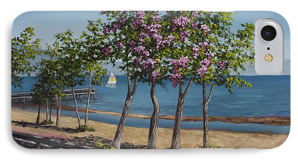 Spring In Kings Beach Lake Tahoe Phone Case by Darice Machel McGuire