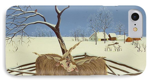 Spring In Winter IPhone Case by Magdolna Ban