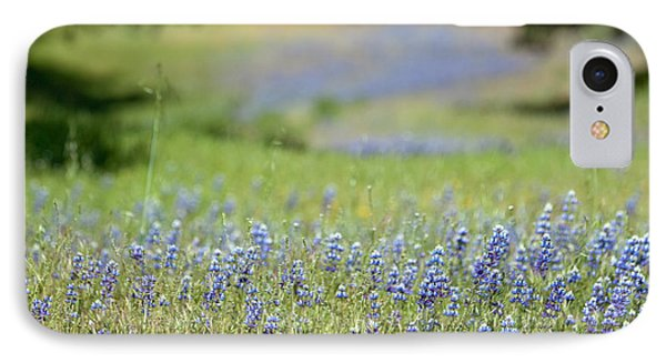 Spring Lupines Phone Case by Art Block Collections