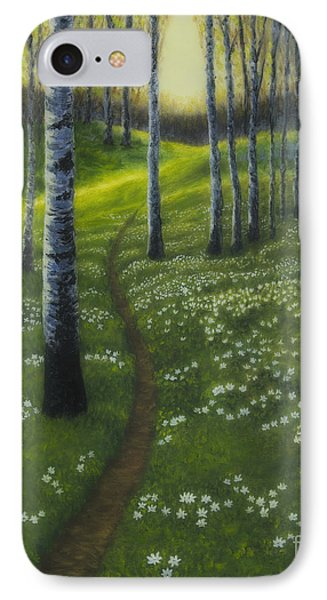 Spring Path IPhone Case by Veikko Suikkanen