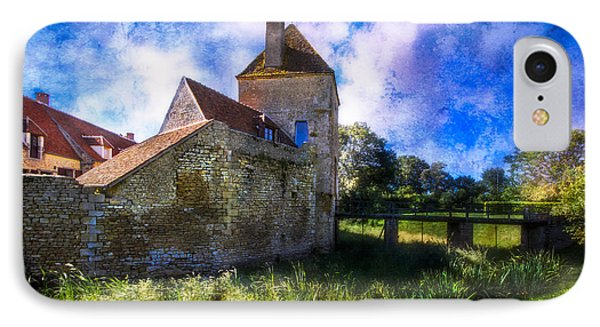 Spring Romance In The French Countryside IPhone Case by Debra and Dave Vanderlaan
