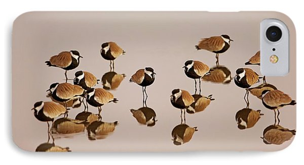 Spur-winged Lapwing (vanellus Spinosus) IPhone 7 Case by Photostock-israel