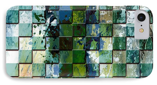 Square Mania - Abstract 01 IPhone Case by Emerico Imre Toth