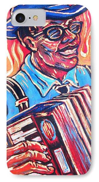 Squeezebox Blues Phone Case by Robert Ponzio