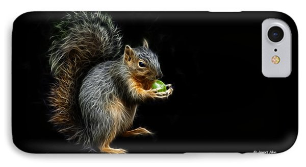 Squirrel - 8331 - F Phone Case by James Ahn