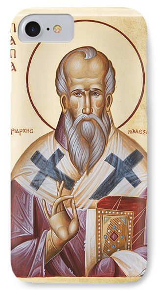 St Alexander Of Alexandria IPhone Case by Julia Bridget Hayes